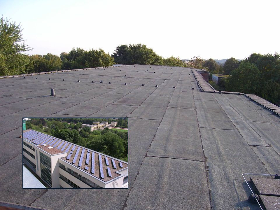 Baujahr: 2004 34 kWp - Photovoltaik-Anlage Diese Solarstrom-Anlage wurde auf dem Dach des neuen Justizzentrums in Kassel errichtet.