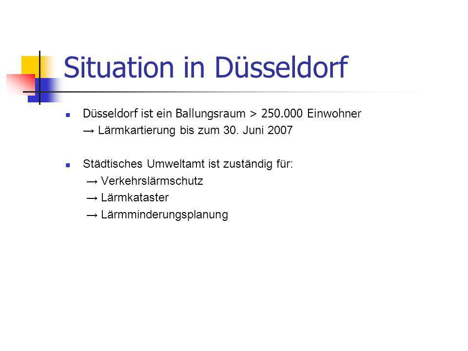 Situation in Düsseldorf