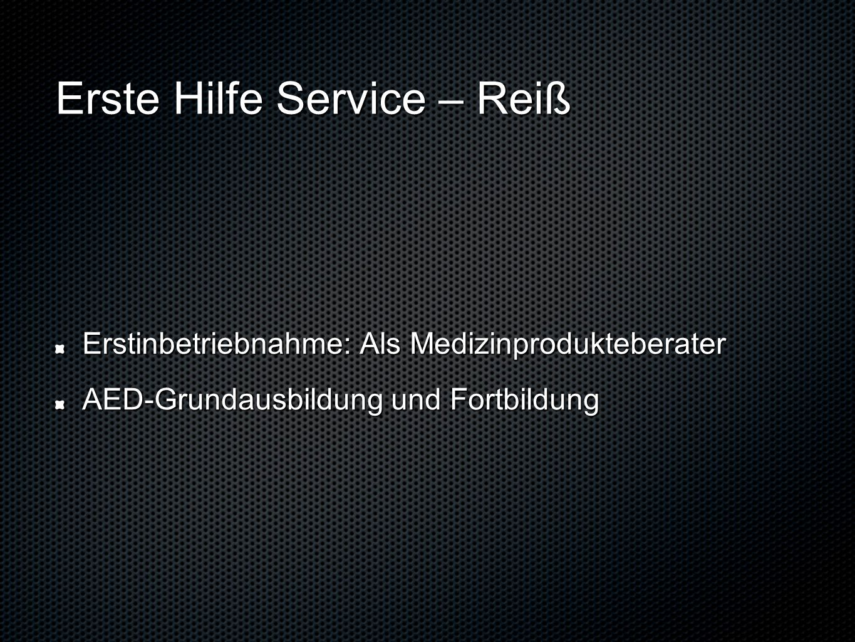 Erste Hilfe Service – Reiß