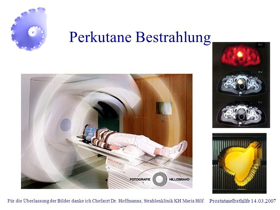 Perkutane Bestrahlung