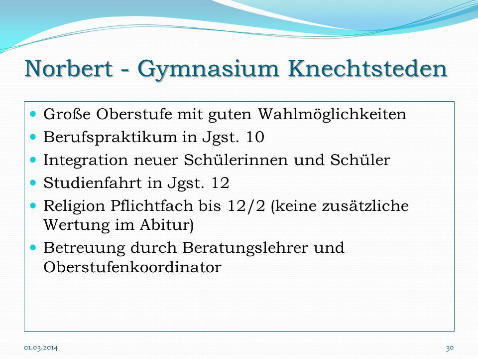 Norbert - Gymnasium Knechtsteden