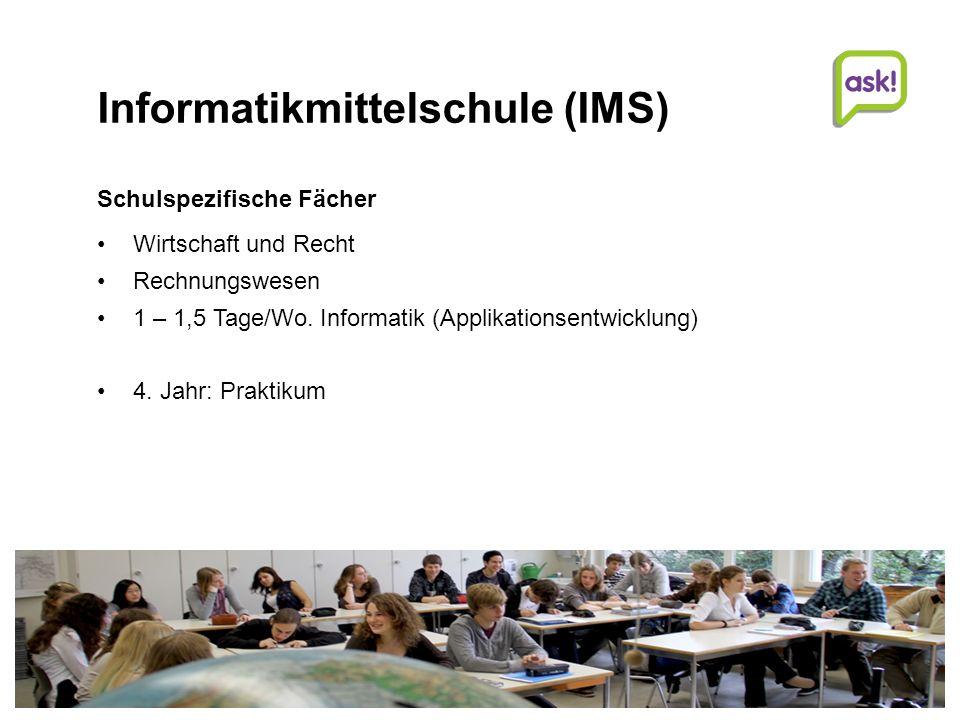 Informatikmittelschule (IMS)
