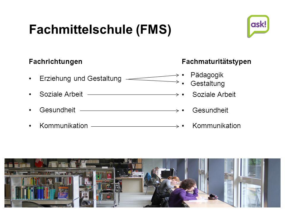 Fachmittelschule (FMS)