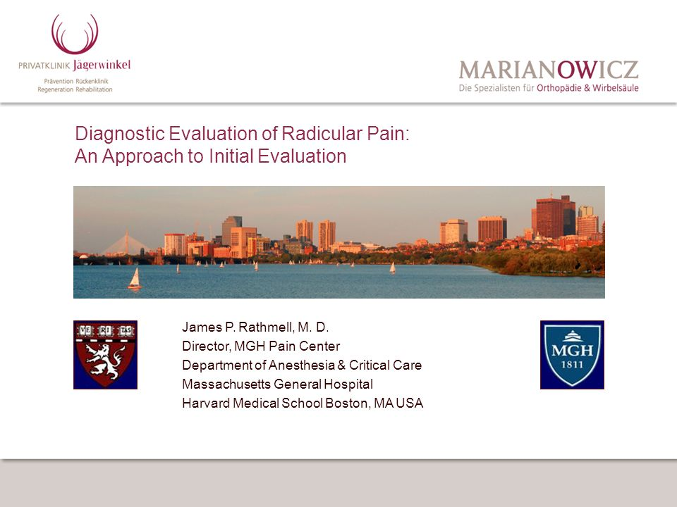 Diagnostic Evaluation of Radicular Pain: