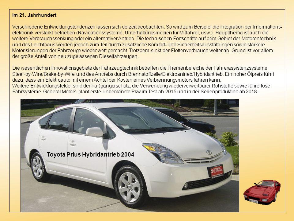 Toyota Prius Hybridantrieb 2004
