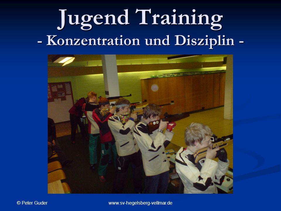 Jugend Training - Konzentration und Disziplin -