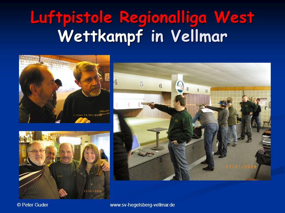 Luftpistole Regionalliga West Wettkampf in Vellmar