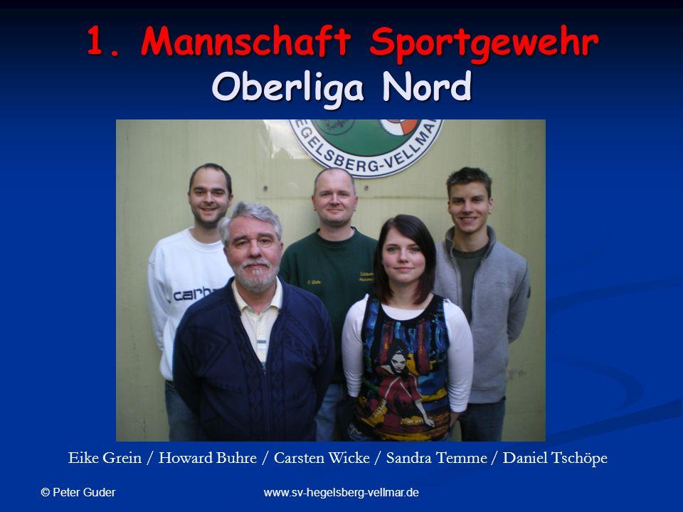 1. Mannschaft Sportgewehr Oberliga Nord