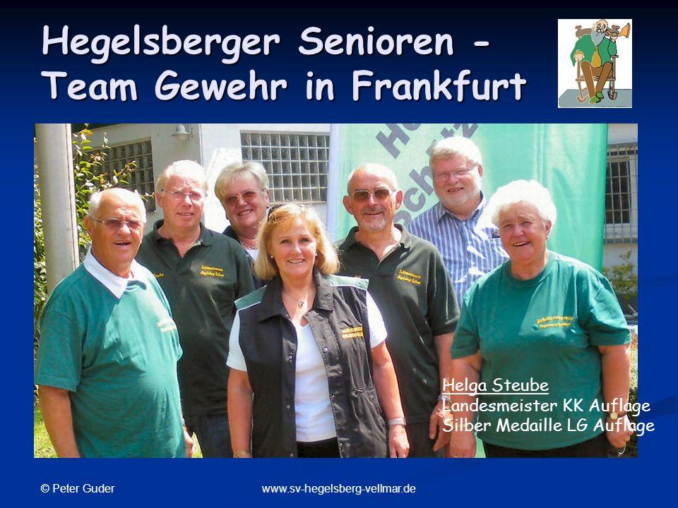 Hegelsberger Senioren - Team Gewehr in Frankfurt