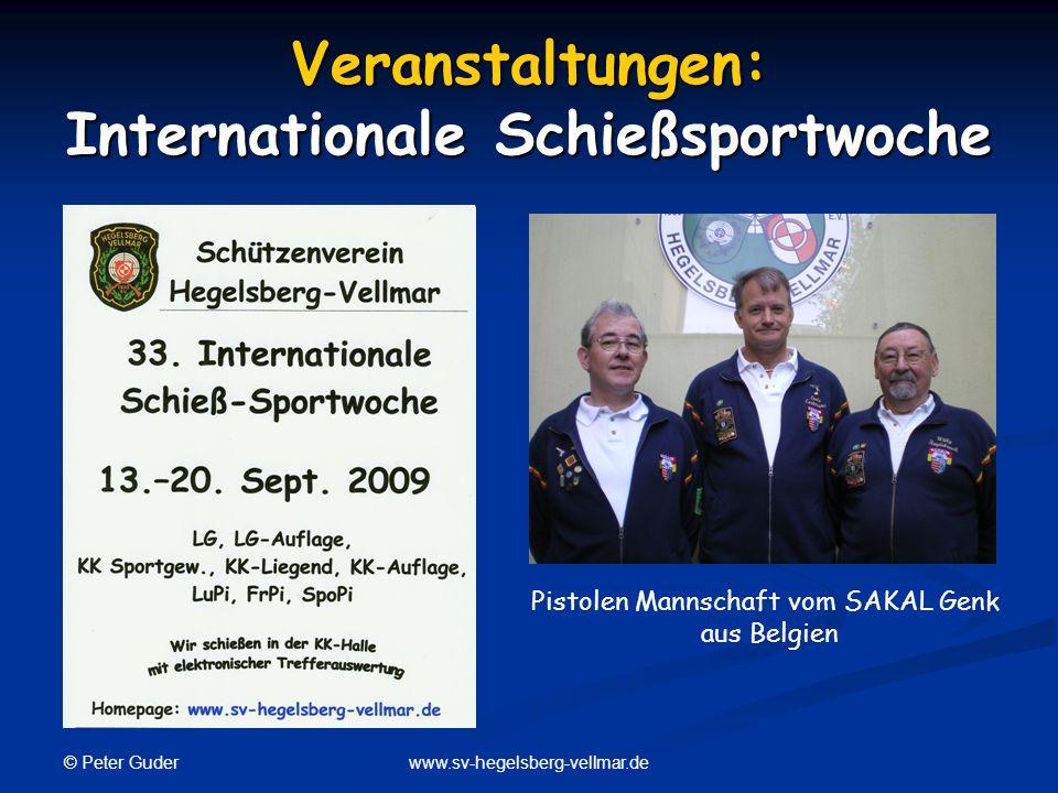 Veranstaltungen: Internationale Schießsportwoche
