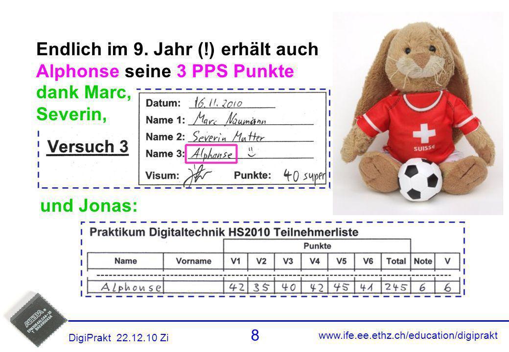 Alphonse PPS Endlich im 9. Jahr (!) erhält auch
