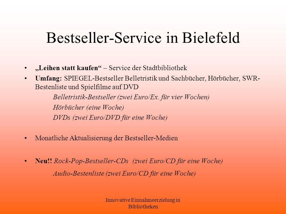Bestseller-Service in Bielefeld