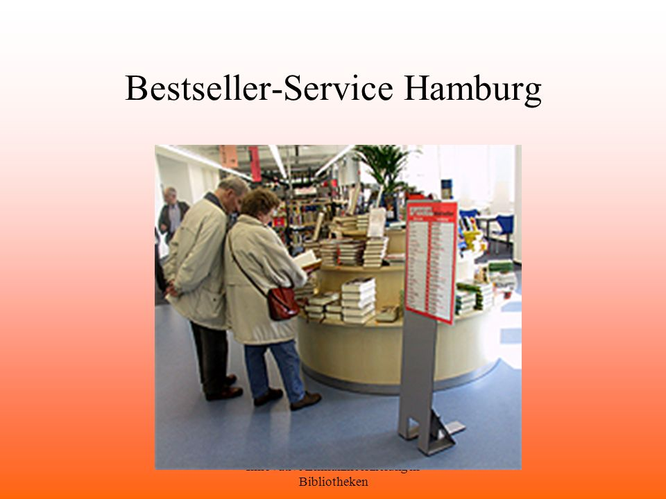 Bestseller-Service Hamburg