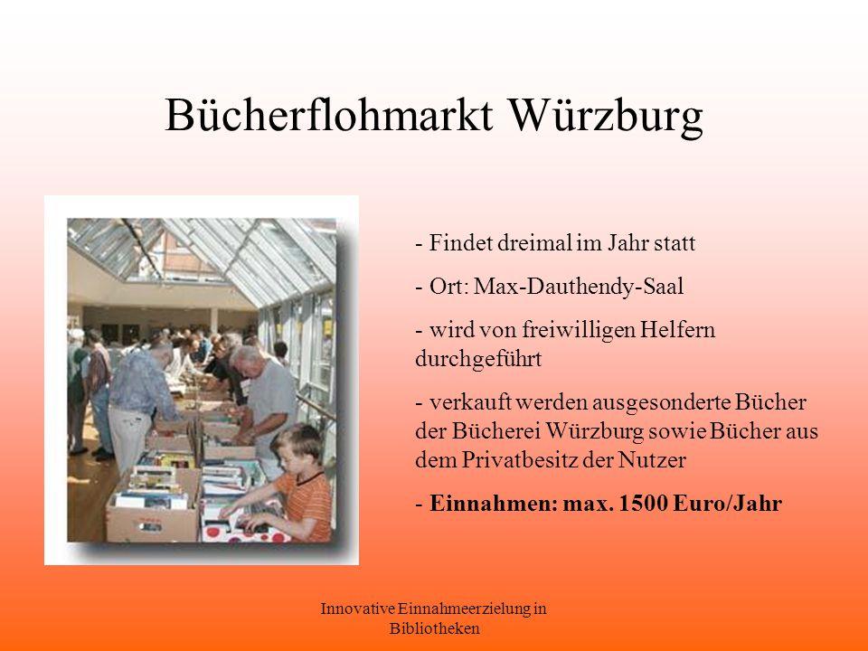 Bücherflohmarkt Würzburg