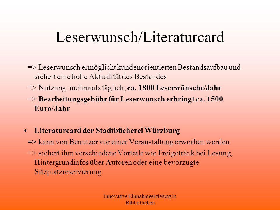 Leserwunsch/Literaturcard