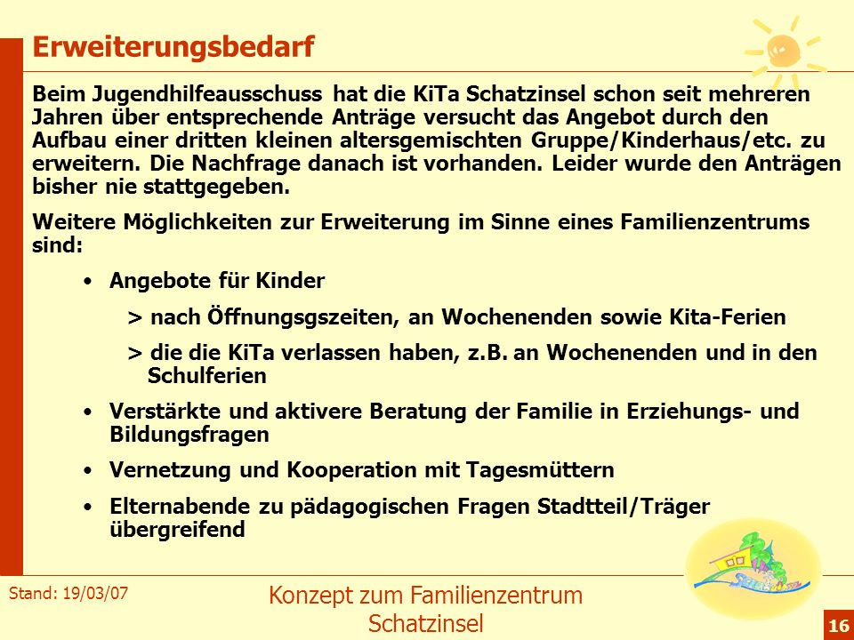 sinne angebot kindergarten