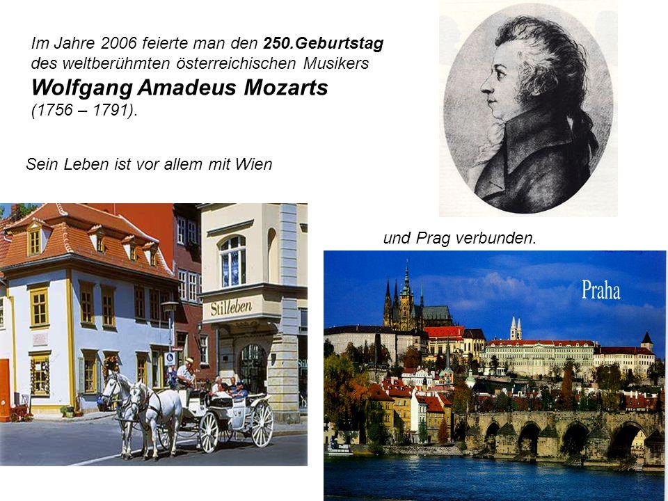 Wolfgang Amadeus Mozarts