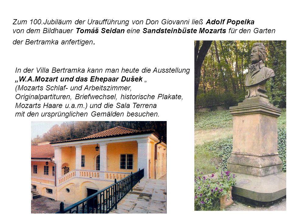 Zum 100.Jubiläum der Uraufführung von Don Giovanni ließ Adolf Popelka