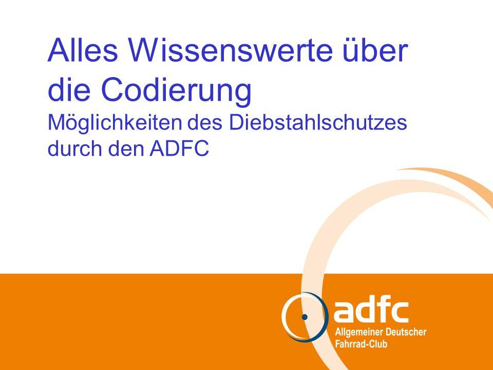 Information über die ADFC-FEIN-Codierung