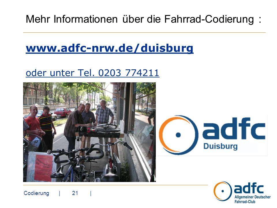 www.adfc-nrw.de/duisburg oder unter Tel. 0203 774211