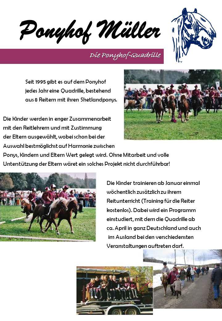 Die Ponyhof-Quadrille