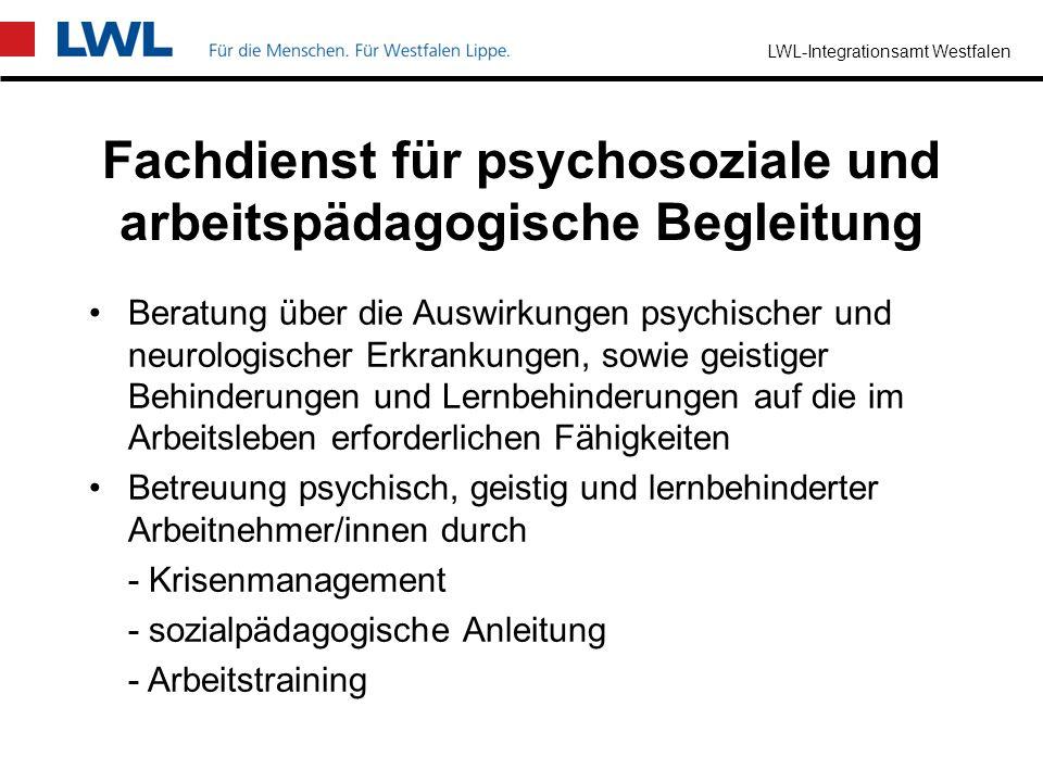 Fachdienst für psychosoziale und arbeitspädagogische Begleitung