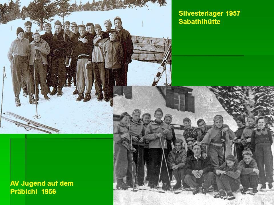 Silvesterlager 1957 Sabathihütte