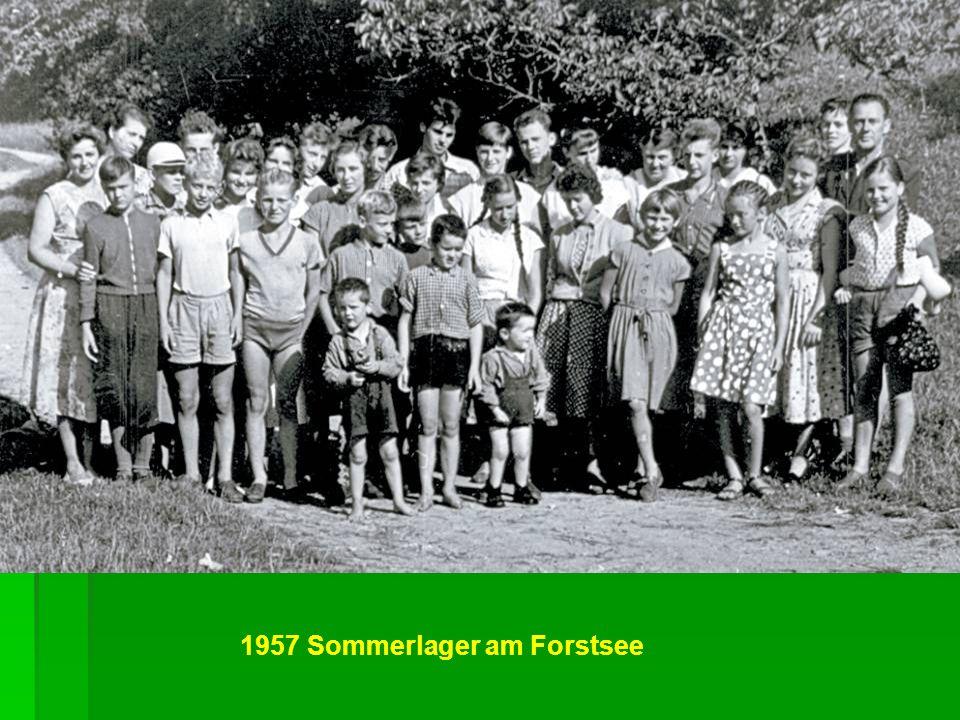 1957 Sommerlager am Forstsee