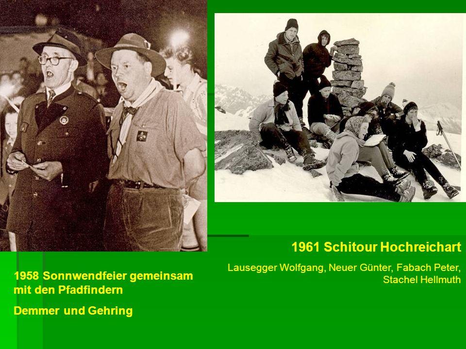 1961 Schitour Hochreichart