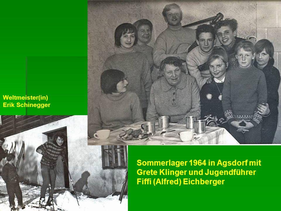 Weltmeister(in) Erik Schinegger