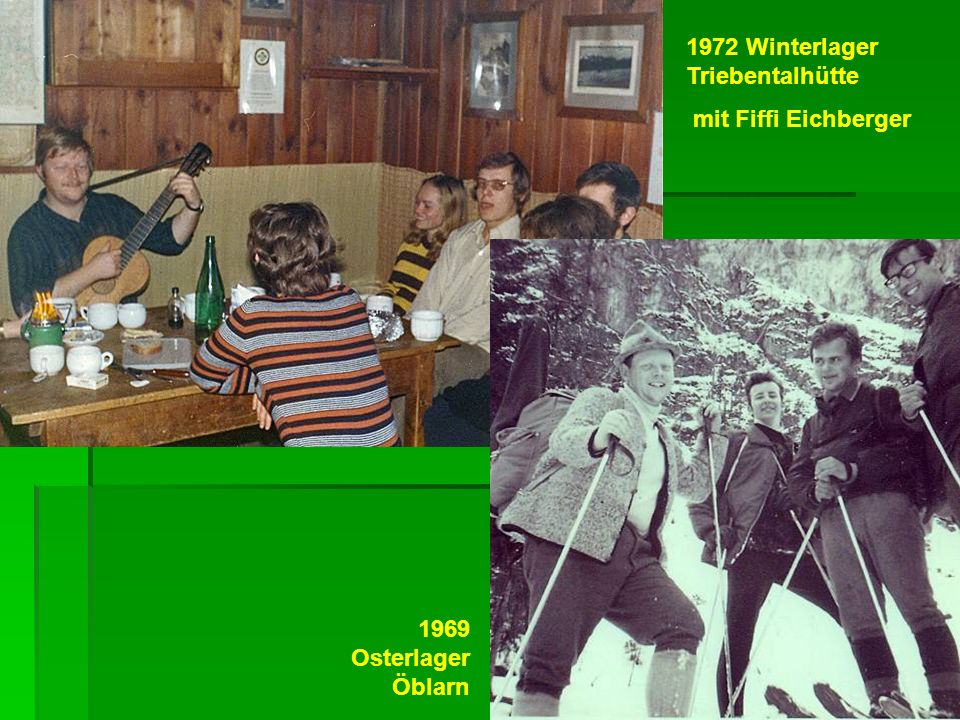 1972 Winterlager Triebentalhütte