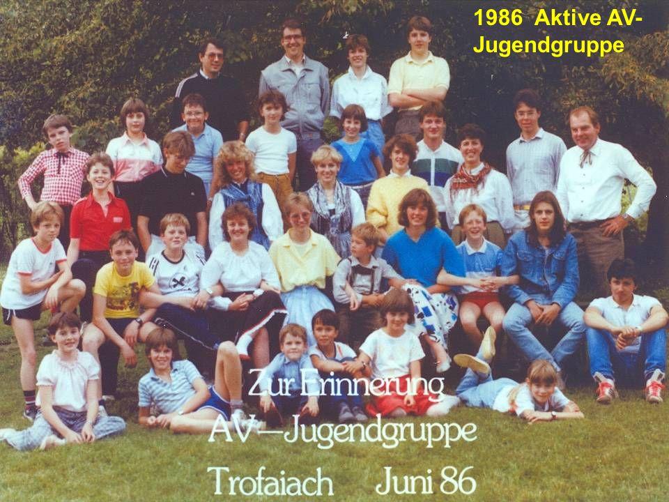 1986 Aktive AV-Jugendgruppe