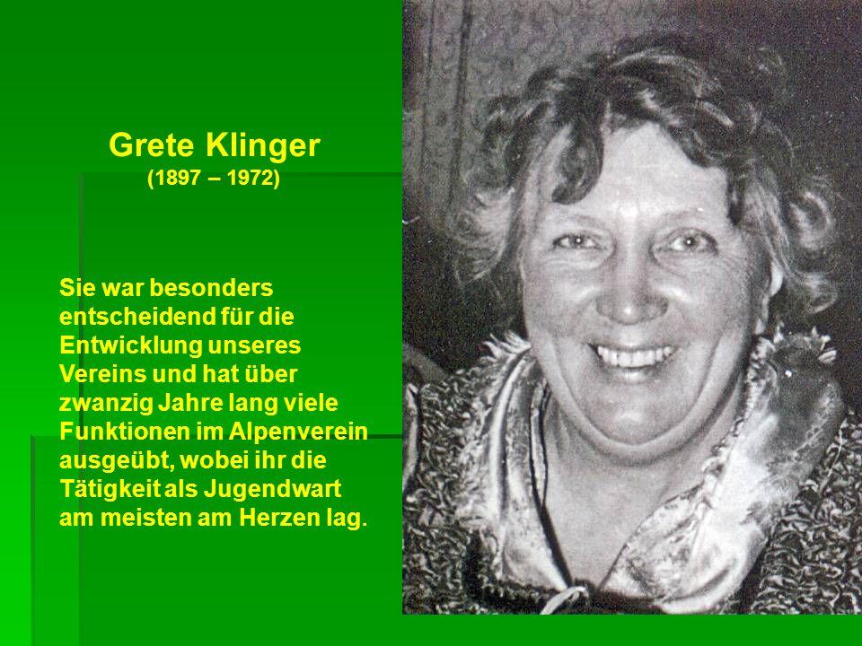 Grete Klinger (1897 – 1972)