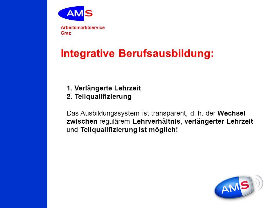 Integrative Berufsausbildung: