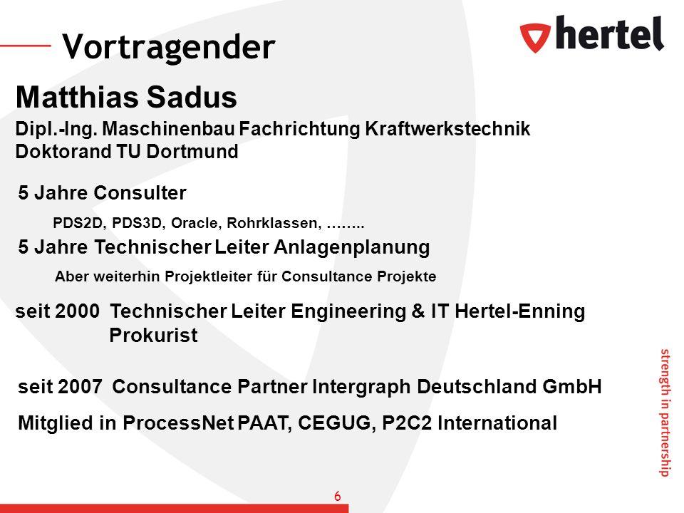 Vortragender Matthias Sadus 5 Jahre Consulter