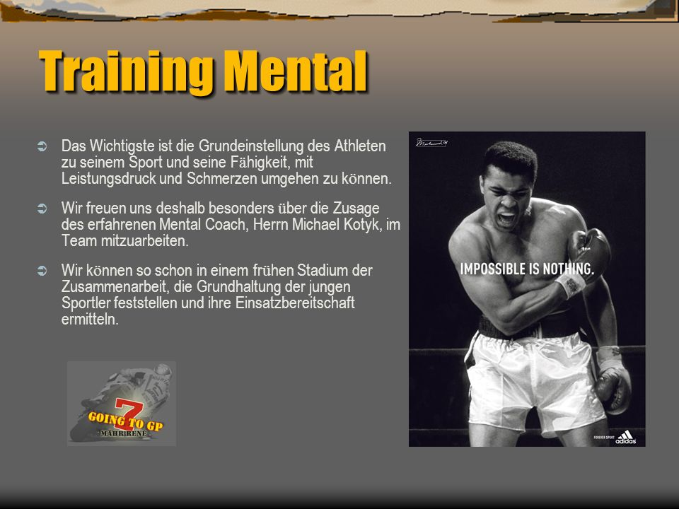 Training Mental