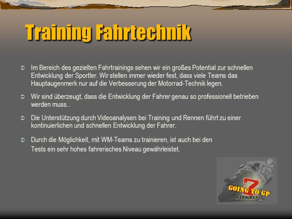 Training Fahrtechnik
