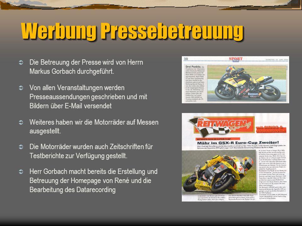 Werbung Pressebetreuung