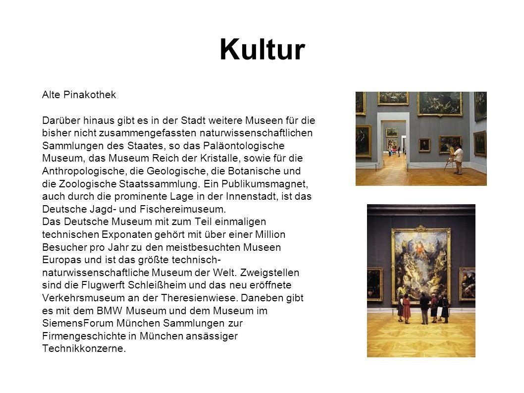 Kultur Alte Pinakothek