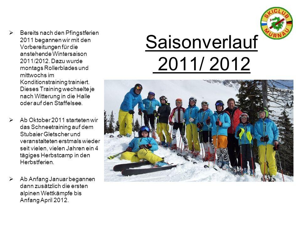 Saisonverlauf 2011/ 2012