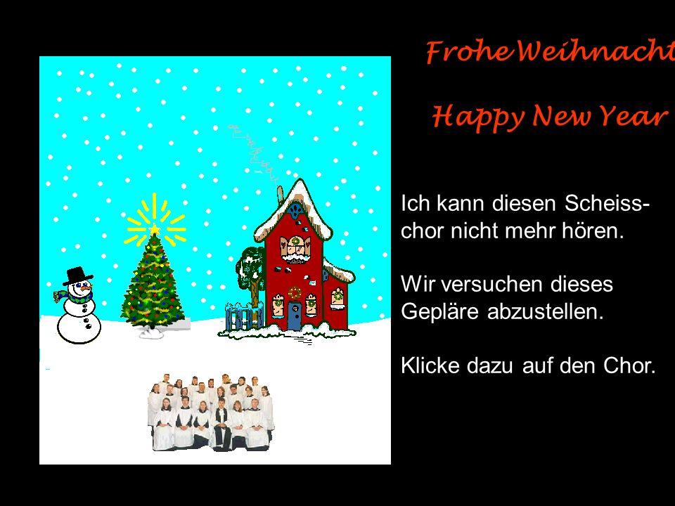 Frohe Weihnachten Happy New Year Ich kann diesen Scheiss-