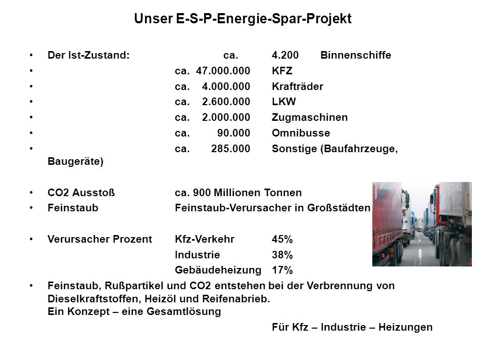 Unser E-S-P-Energie-Spar-Projekt