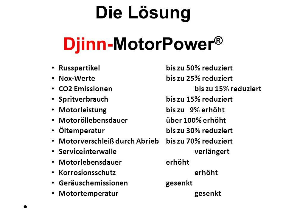 Die Lösung Djinn-MotorPower®
