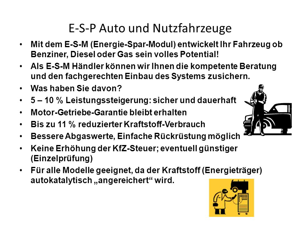 E-S-P Auto und Nutzfahrzeuge