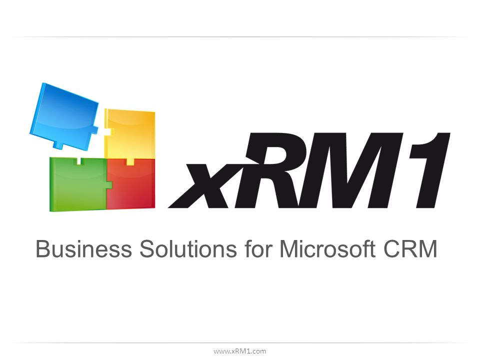 Business Solutions for Microsoft CRM