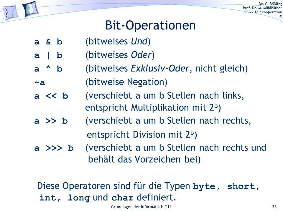 Bit-Operationen