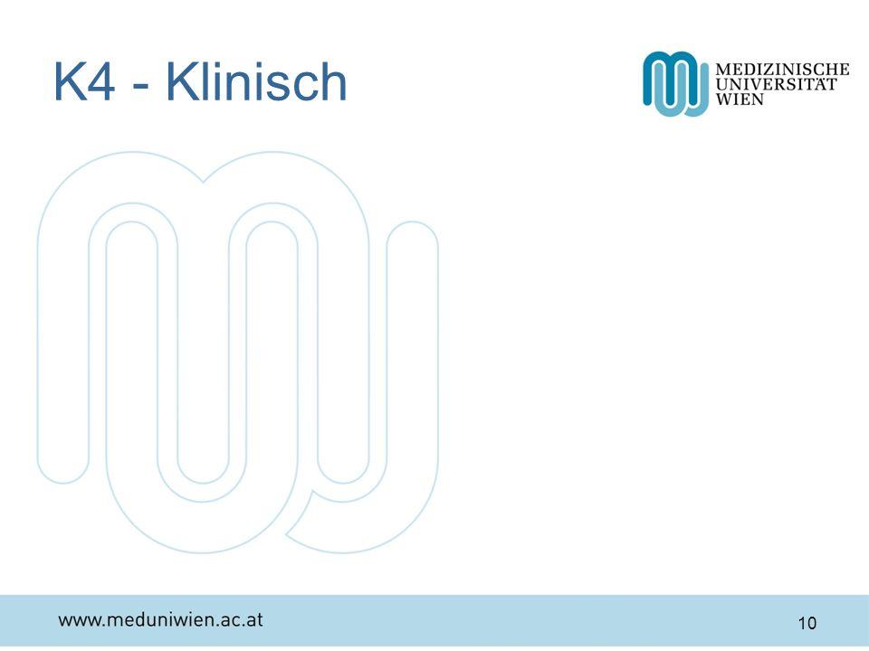 K4 - Klinisch Osler, 1849-1919, kanadischer Mediziner, ggf.