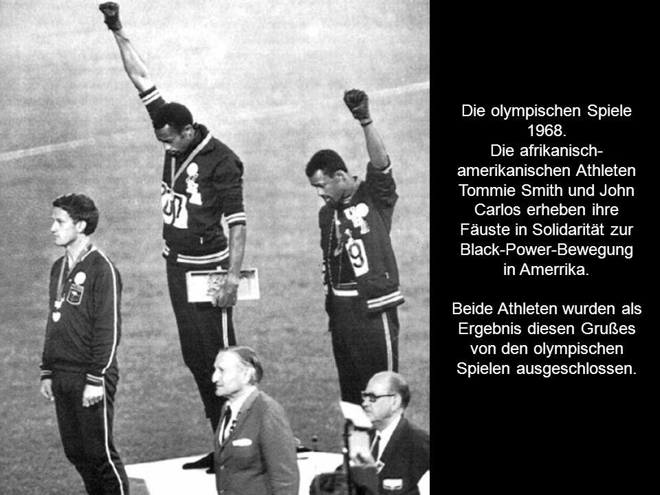 Die olympischen Spiele 1968.