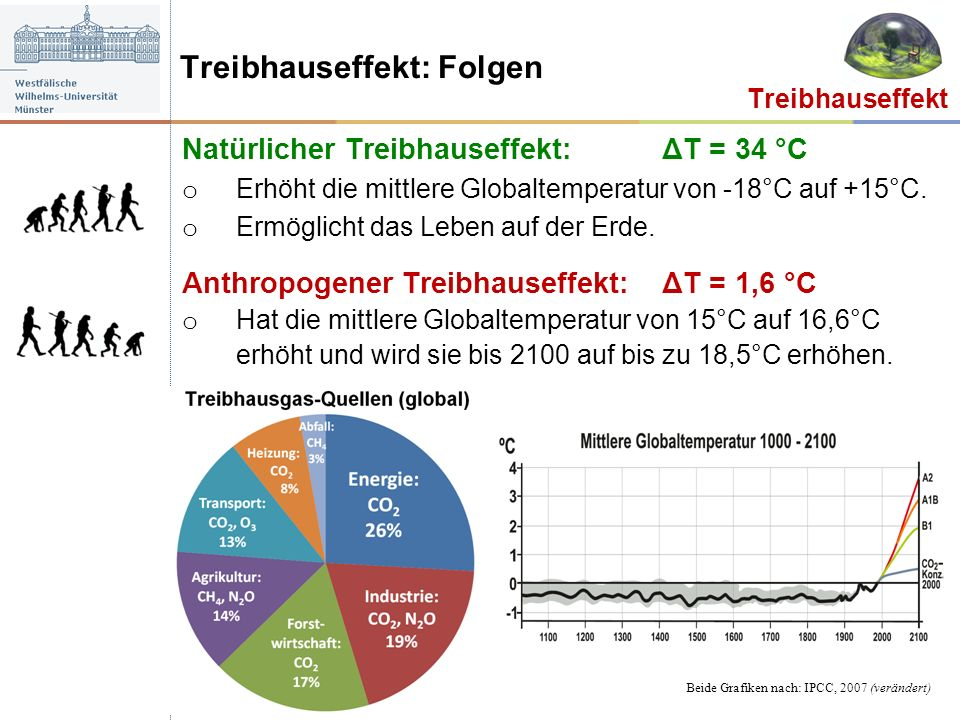 Treibhauseffekt: Folgen