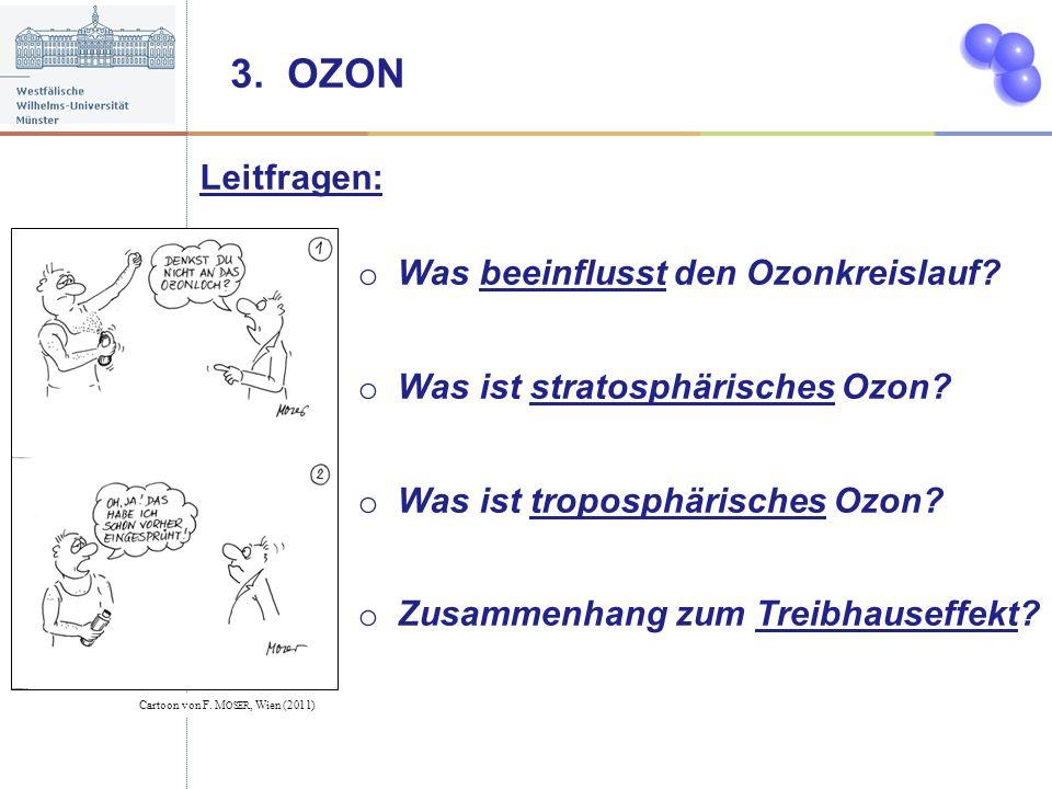3. OZON Leitfragen: Was beeinflusst den Ozonkreislauf